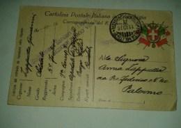 1458) 11-10-1916 Franchigia WW 1^ Posta Militare INTENDENZA 2^ ARMATA A Sanita' Cividale Piega - Franchigia