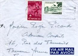 1960 LETTRE   VIET-NAM SAIGON  POUR FRANCE   / 7954 - Vietnam