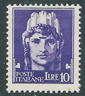 1929-42 REGNO IMPERIALE 10 LIRE MNH ** - CZ22-3 - 1900-44 Victor Emmanuel III