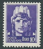 1929-42 REGNO IMPERIALE 10 LIRE MNH ** - CZ22-6 - 1900-44 Victor Emmanuel III