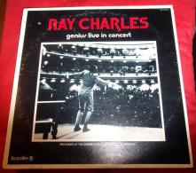Ray Charles Genius Live In Concert Original 1973 Bluesway U.S.A Tbe - Soul - R&B