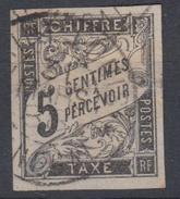#109# COLONIES GENERALES TAXE N° 5 Oblitéré Saint-Louis (Sénégal)