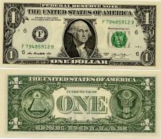 U.S.A.       1 Dollar       P-New       2013       UNC  [letter F: Atlanta] - Federal Reserve (1928-...)