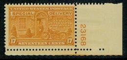 US USA 1944 SPECIAL DELIVERY  UNIF. E18   ** MNH - Express & Recommandés