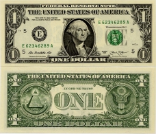 U.S.A.       1 Dollar       P-New       2013       UNC  [letter E: Richmond] - Federal Reserve (1928-...)