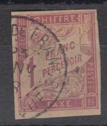 #109# COLONIES GENERALES TAXE N° 25 Oblitéré Fort-de-France (Martinique)
