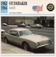 """Auto Da Collezione  """"Studebaker  1962  Avanti"""" (U.S.A.) - Motori"""