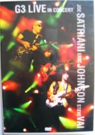 DVD G3 Live Joe Satriani Steve Vai Eric Johnson Minneapolis - DVD Musicaux
