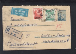 Yugoslavia Stationery Cover Uprated Overprints 1950 (3) - 1945-1992 Socialist Federal Republic Of Yugoslavia