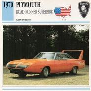 """Auto Da Collezione  """"Plymouth  1970  Road Runner Superbird"""" (U.S.A.) - Motori"""