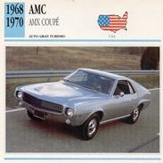 """Auto Da Collezione  """"AMC  1968 AMX Coupè"""" (U.S.A.) - Motori"""