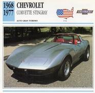 """Auto Da Collezione  """"Chevrolet  1968  Corvette Stingray"""" (U.S.A.) - Motori"""
