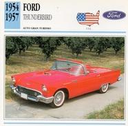 """Auto Da Collezione  """"Ford  1954  Thunderbird"""" (U.S.A.) - Motori"""