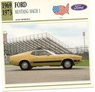 "Auto Da Collezione  ""Ford  1969  Mustang Mach 1"" (U.S.A.) - Motori"