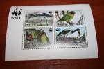 WWF Birds  Zambia  Rare Mini-block