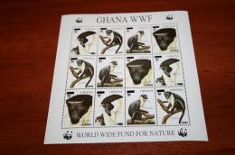 WWF Fauna Ghana Rare Overprint
