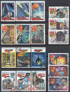 """Sowjet Unie - Ruimtevaartprogramma """"Intercosmos""""- 6 Complete Series - Gebruikt/gebraucht/used - Postzegels"""