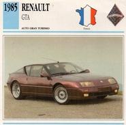 """Auto Da Collezione  """"Renault  1985  GTA"""" (Francia) - Motori"""