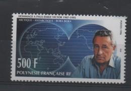 POLYNESIE    N° 502 ** - PAUL EMILE VICTOR    Cote  11.70 €