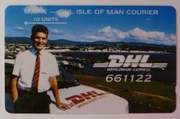 ISLE OF MAN - GPT - DHL - 1st Issue - 5IOMH - 10 Units - Mint