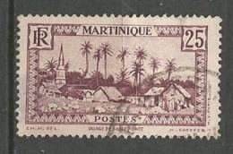 MARTINIQUE N° 140 OBL  TB - Usados