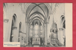 Bois-d'Haine - L'Eglise - Vue Intérieure -1908 ( Voir Verso ) - Manage