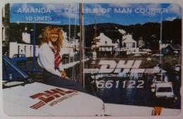 ISLE OF MAN - GPT - DHL - 1st Issue - 5IOMF - 10 Units - Mint
