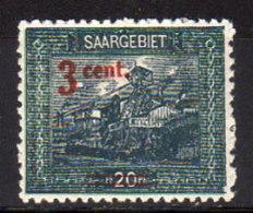 SAARLAND 1921 - MiNr: 70   ** / MNH - Ungebraucht
