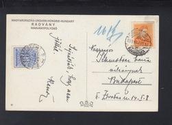 Hungary PPC 1939 Radvany Tax - Ungarn
