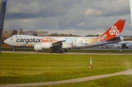 CARGOLUX  B 747 800   LX VCM - 1946-....: Era Moderna