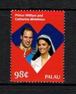 Palau 2011 Sc # 1048  MNH **  Royal Wedding