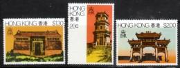 Hong Kong 1980 Scott 361-3 Rural Architecture MNH** - Hong Kong (...-1997)