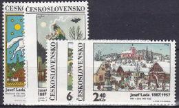 ** Tchécoslovaquie 1970 Mi 1935-8 (Yv 1779-82), (MNH)