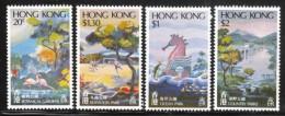 Hong Kong 1980 Scott 365-8 Parks MNH** - Hong Kong (...-1997)