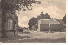 WORTEL: Stilstandplaats Van De Tram En Gedenkzuil Der Oud Strijders - Hoogstraten