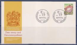 = Carte, Afrique Du Sud, 1 Timbre 1981.07.03 - Afrique Du Sud (1961-...)