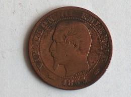 FRANCE 5 CENTIMES 1853 A - France