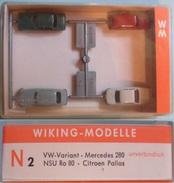 Coffret De 4 Véhicules WIKING - Road Vehicles