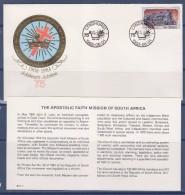 = Enveloppe + Carte, Afrique Du Sud, 1 Timbre 1984-06-01, Locomotive - Afrique Du Sud (1961-...)