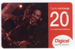 GUYANE RECHARGE DIGICEL 5€ Date 06/2006 - Guyana