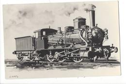15784 -  Locomotive Type 30 Photo Cl.Buret - Trains