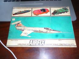 Catalogue Of Airkit 1967 4ème édition Train Auto Moto Bateau Soldats Pompier Modélisme Tank - Catalogi
