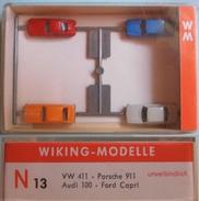 Coffret  WIKING De 4 Véhicules - Road Vehicles