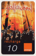 REUNION RECHARGE ORANGE HALLOWEEN Date 12/2005 - Reunion