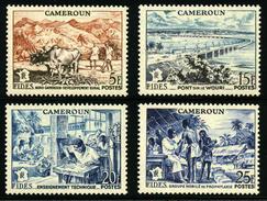 CAMEROUN - YT 300 à 303 ** - SERIE COMPLETE 4 TIMBRES NEUFS ** - Cameroun (1915-1959)