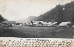 GRUSS VOM LÄNGENGRUND → Alter & Seltener Lichtdruck Anno 1907 ►Stempel Trubschachen & Langnau◄ - BE Berne