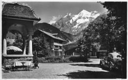 KANDERSTEG → Hotel Schweizerhof Mit Oldtimer BE-10776, Fotokarte Ca.1940 - BE Berne