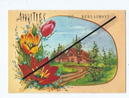 Carte Fantaisie Moderne    - Amitiés De Berlaimont - Berlaimont