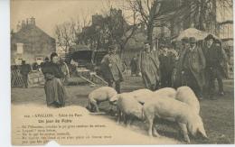 AVALLON - Scène Du Pays - Un Jour De Foire ( Cochons ) - Avallon