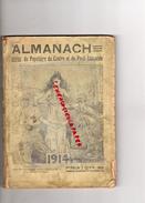 87 - LIMOGES - ALMANACH DU POPULAIRE DU CENTRE 1914- SOCIALISTE SOCIALISME- BOUCHERIE PAROT-NIVET-IMPRIMERIE NOUVELLE- - Documents Historiques